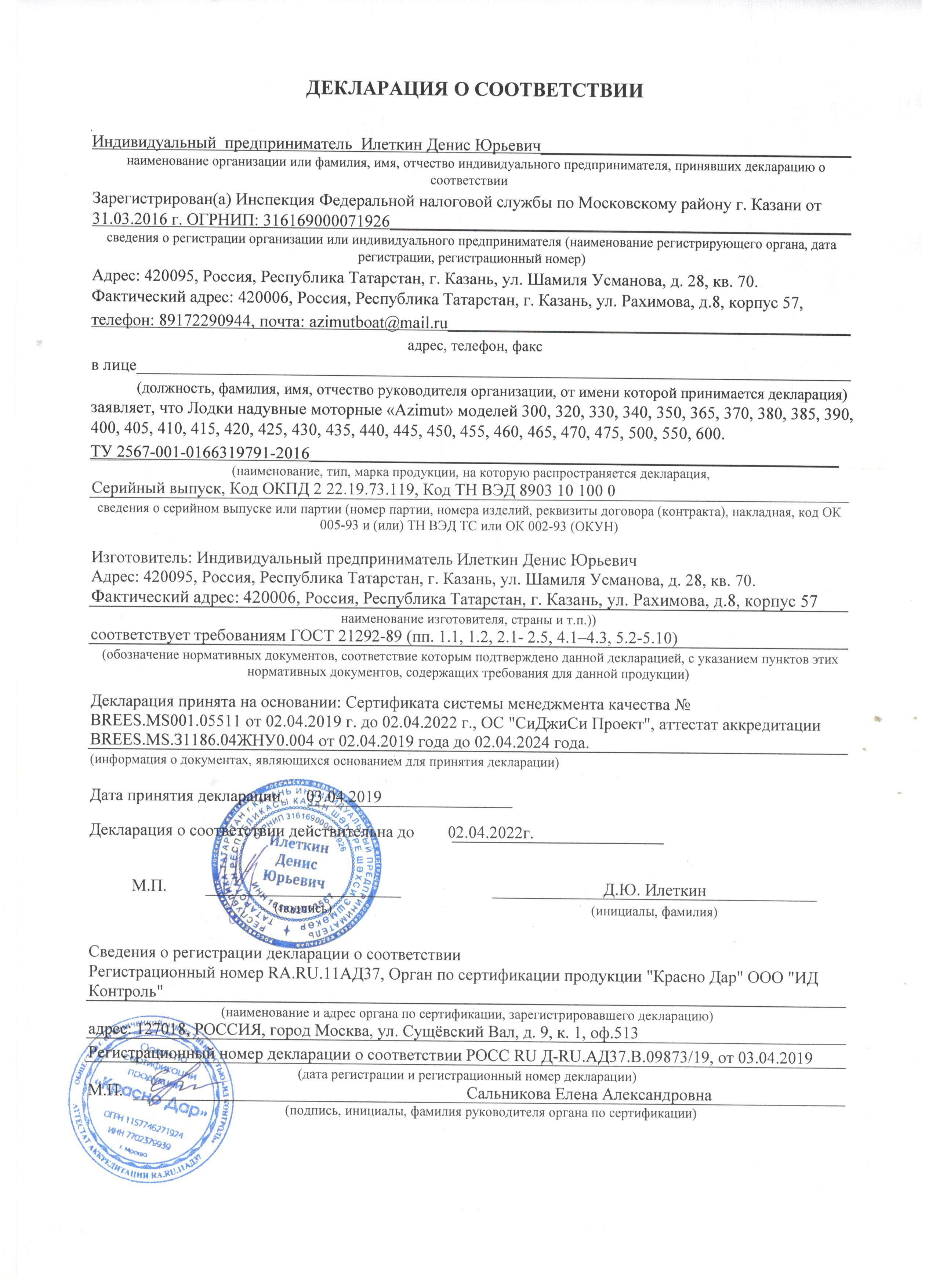 Сертификация производства лодок сертификация leed в россии