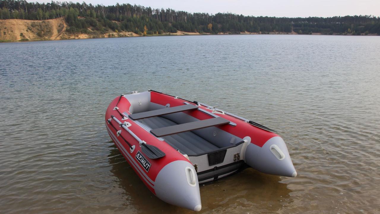 3 х опорная лодка